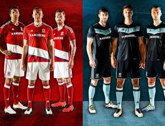 Les autres maillots 2016/2017 de Premier League