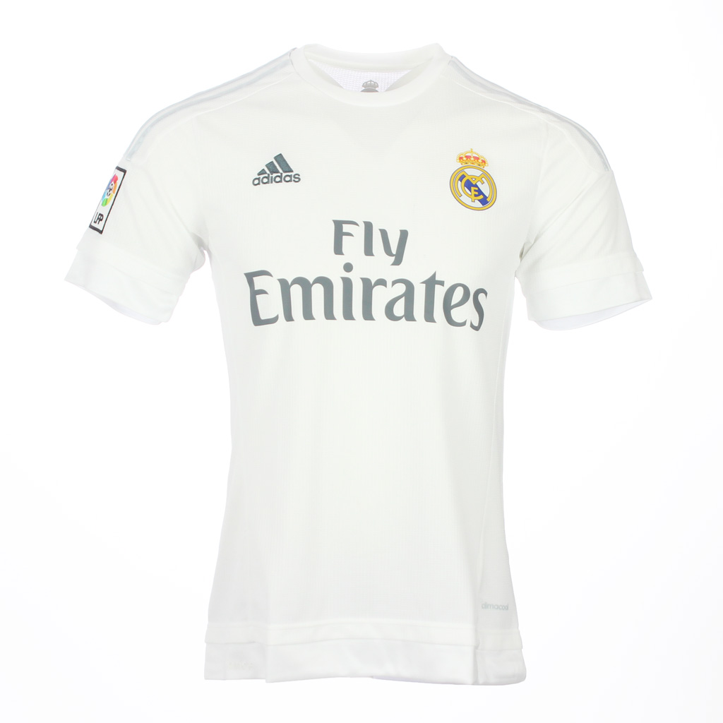 maillot domicile real madrid cf 2015 2016 enfant footpack. Black Bedroom Furniture Sets. Home Design Ideas