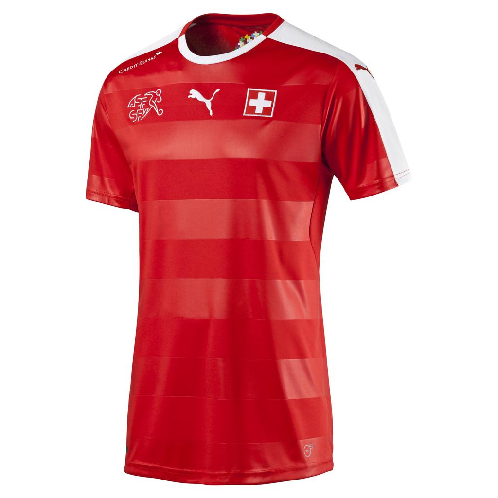Maillot Domicile Suisse Euro 2016