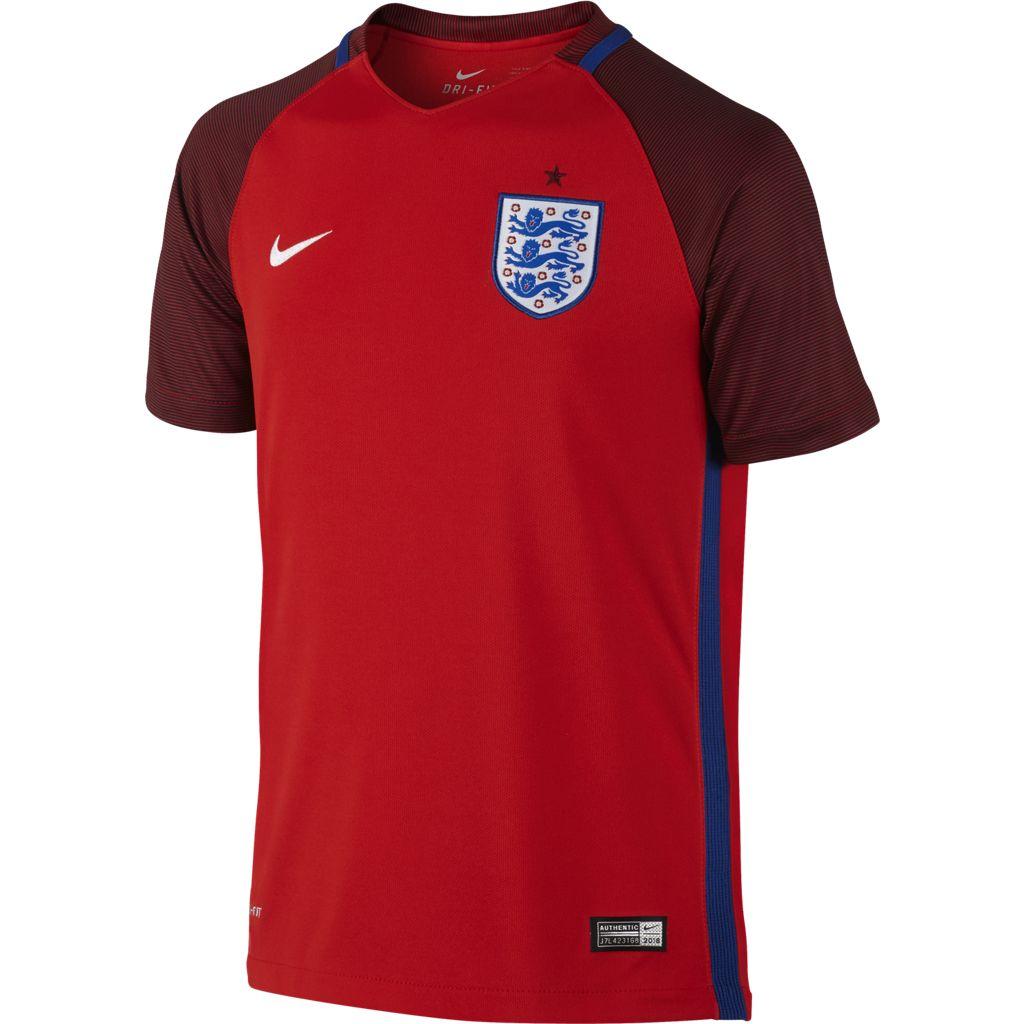 Maillot Extérieur Angleterre Euro 2016 Enfant