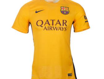 Maillot Extérieur Authentique FC Barcelone 2015/2016