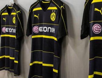Puma lance les maillots 2016-2017 du Borussia Dortmund