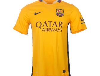Maillot Extérieur FC Barcelone 2015/2016