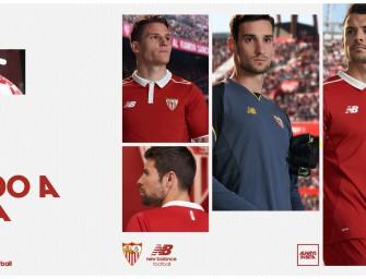 New Balance dévoile les maillots 2016-2017 du FC Séville
