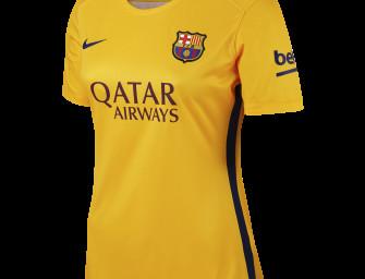 Maillot Extérieur Femme FC Barcelone 2015/2016