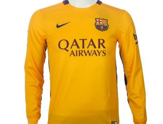 Maillot Extérieur ML FC Barcelone 2015/2016