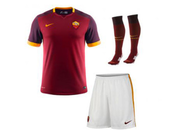 Mini-Kit Domicile AS Roma 2015/2016 ENFANT