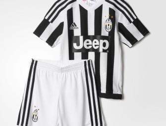 Mini kit Domicile Juventus de Turin 2015/2016 ENFANT