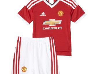 Mini-Kit Domicile Manchester United FC 2015/2016 ENFANT