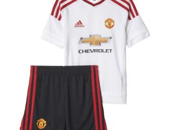 Mini-Kit Extérieur Manchester United FC 2015/2016 ENFANT