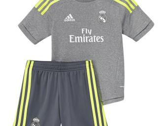 Mini-Kit Extérieur Real Madrid CF 2015/2016