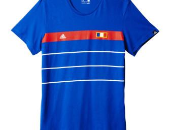 Tee-Shirt France History Bleu