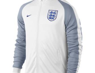 Veste Authentique N98 Domicile Angleterre Euro 2016