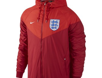 Veste Authentique Windrunner Angleterre Euro 2016