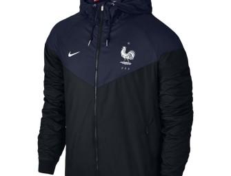Veste Authentique Windrunner France Euro 2016
