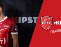 Les nouveaux maillots de Valenciennes par Kipsta