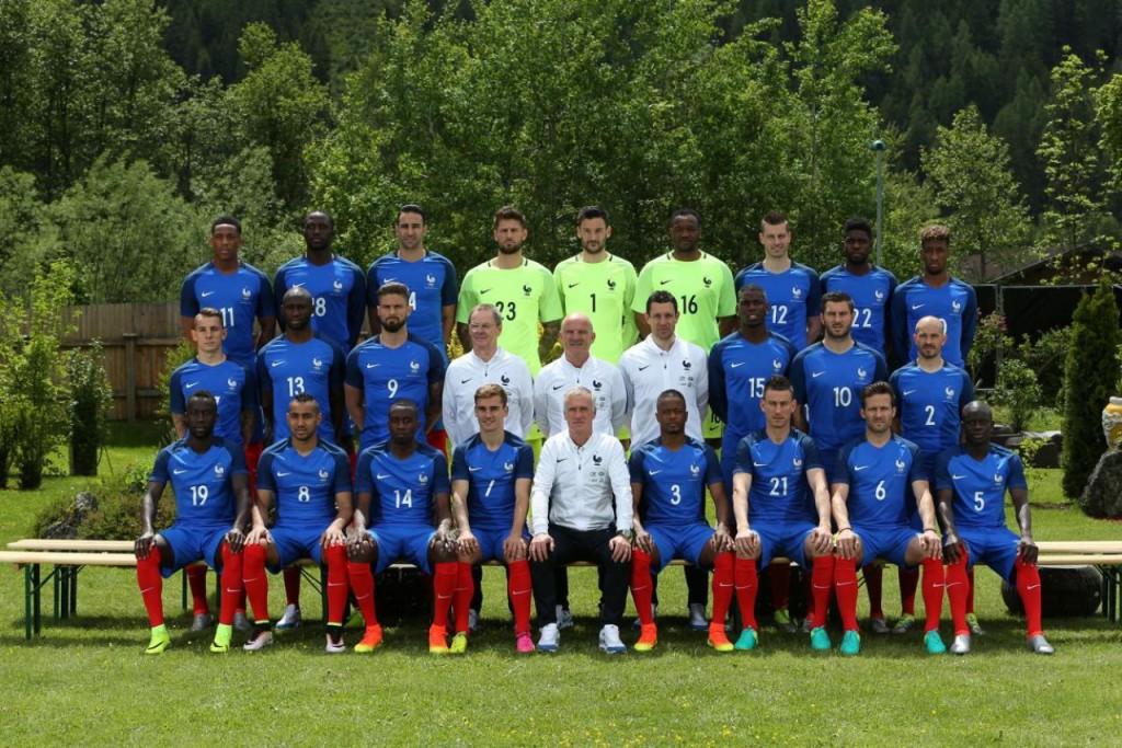 Photo Officielle Equipe de France UEFA Euro 2016
