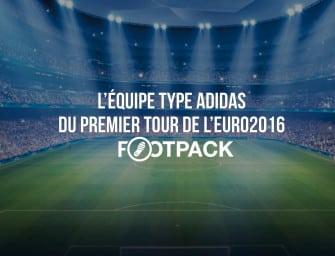 L'équipe type adidas du premier tour de l'Euro 2016
