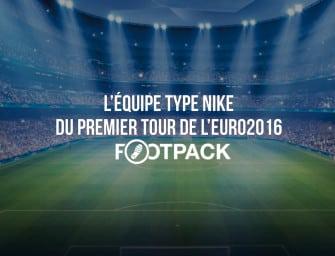 L'équipe type Nike du premier tour de l'Euro 2016