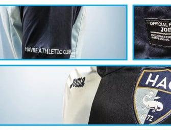 Joma dévoile les nouveaux maillots 2016-2017 du Havre AC