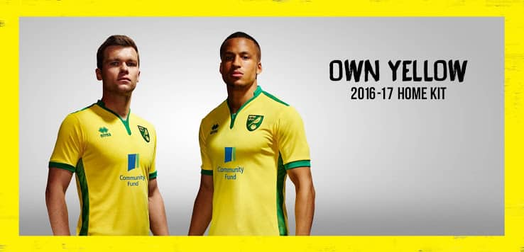 maillot-domicile-norwich-city-2016-2017