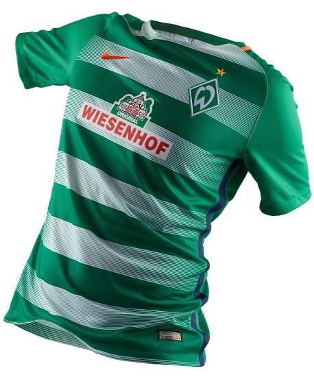 maillot-domicile-werder-breme-2016-2017