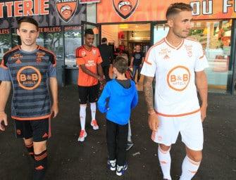 Les maillots 2016-2017 du FC Lorient par adidas