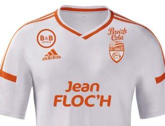 Le FC Lorient dévoile son maillot extérieur 2016-2017 par adidas