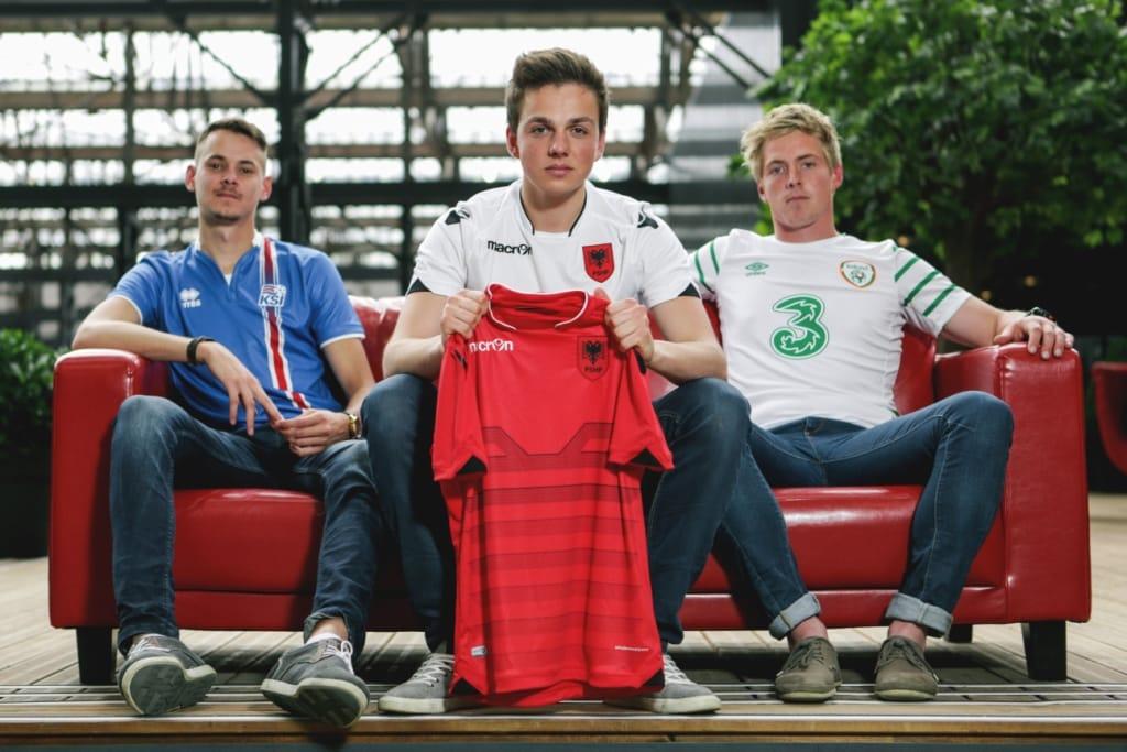 Les maillots Errea, Umbro, Macron de l'Euro 2016 - Footpack