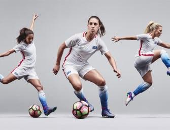 Nike conçoit une tenue unique pour l'équipe féminine des Etats-Unis: le Striking Platinium