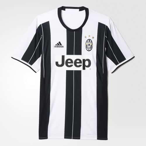 Maillot Juventus Turin Replica adidas 2016 2016 Domicile Home