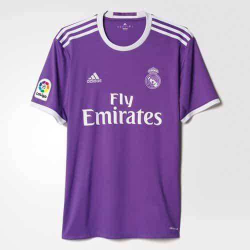 Maillot Real Madrid Extérieur Replica 2016 2017 adidas