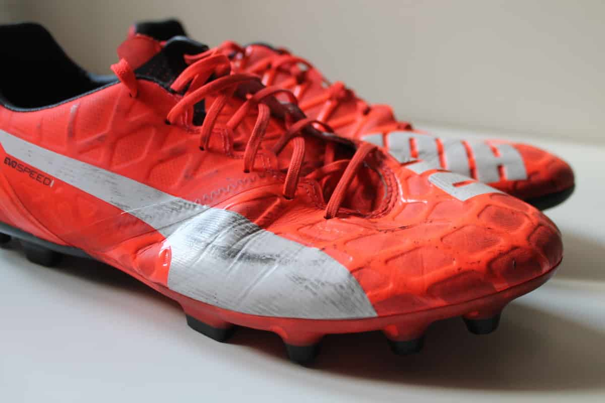 chaussures,football,Puma,evospeed,1,4,un,an,