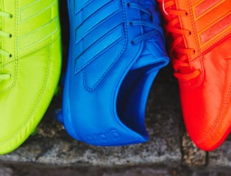 L'adidas Gloro16 en mode « Speed of Light »