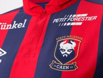 Les maillots 2016-17 du Stade Malherbe de Caen par Umbro