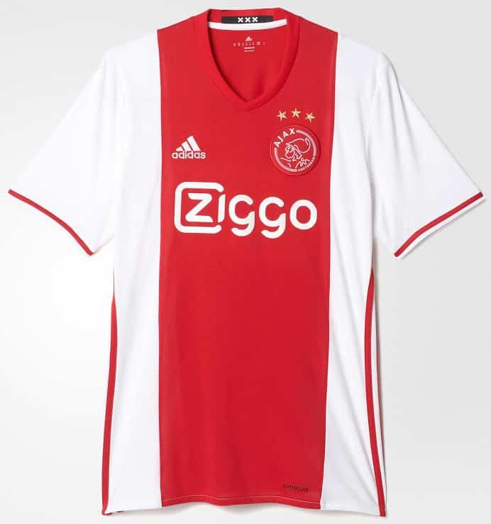 maillot-domicile-ajax-amsterdam-2016-2017-dos