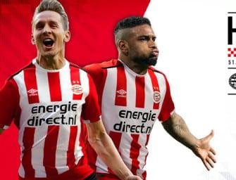 Umbro dévoile les maillots 2016-2017 du PSV Eindhoven