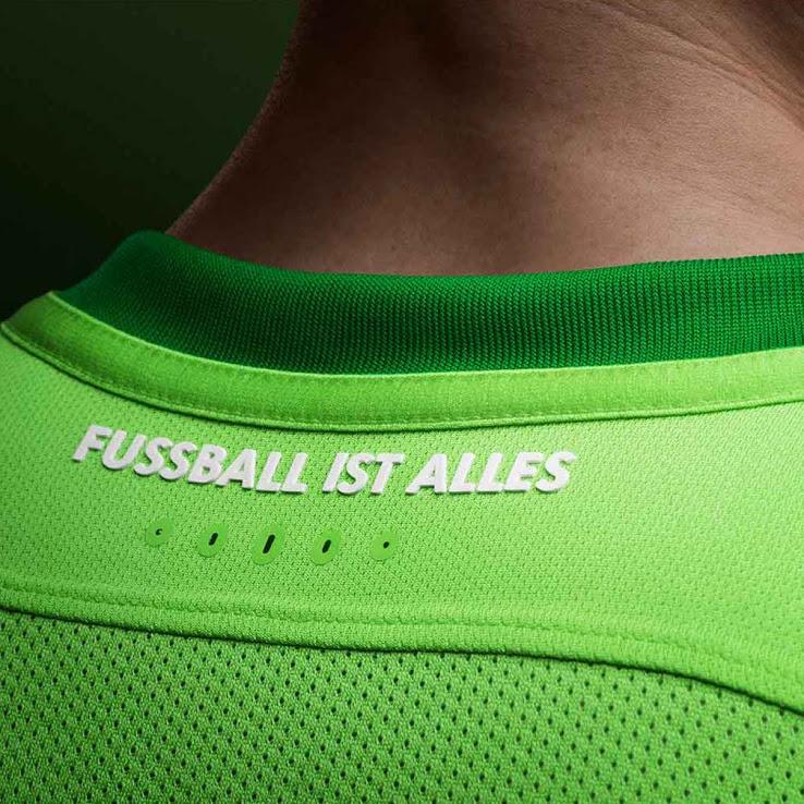 nike shorts ACG - Nike pr sente les maillots 2016-2017 de Wolfsbourg