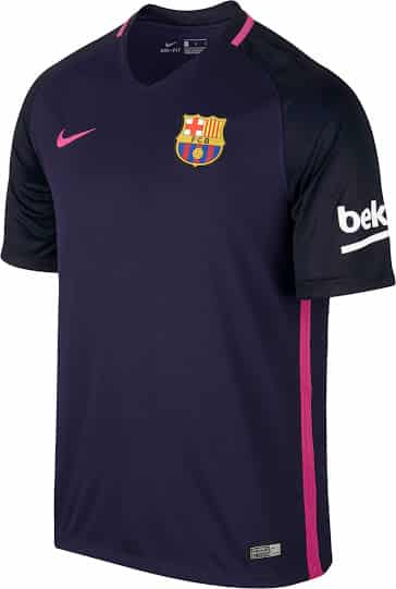 le fc barcelone d voile ses maillots 2016 2017 sign s nike