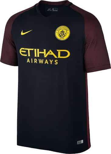 Tous les maillots 2016 2017 de la premier league for Manchester united exterieur 2017