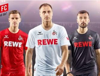Erima dévoile les maillots 2016-2017 du FC Cologne