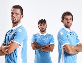 Les maillots 2016-2017 de la Lazio par Macron