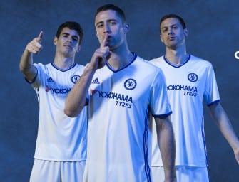 Chelsea et adidas présentent les maillots 2016-2017