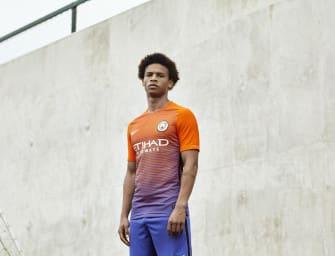 Nike dévoile les maillots 2016-2017 de Manchester City