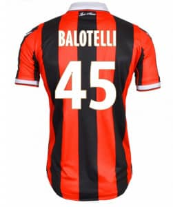 Maillot Balotelli Nice Numéro 45 Macron