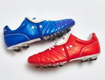 Des nouveaux coloris bleu et rouge pour l'Emidio Italia de Pantofola d'Oro