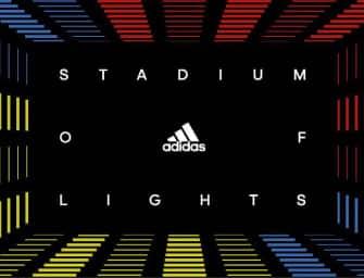 adidas lance le Stadium of Lights à Paris