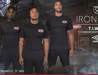 West Ham United dévoile un maillot spécial «Thames Ironworks»