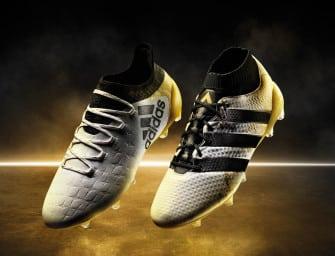 Blanc/Or/Noir : les coloris historiques d'adidas Football