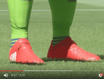 Les chaussures de foot de FIFA 17